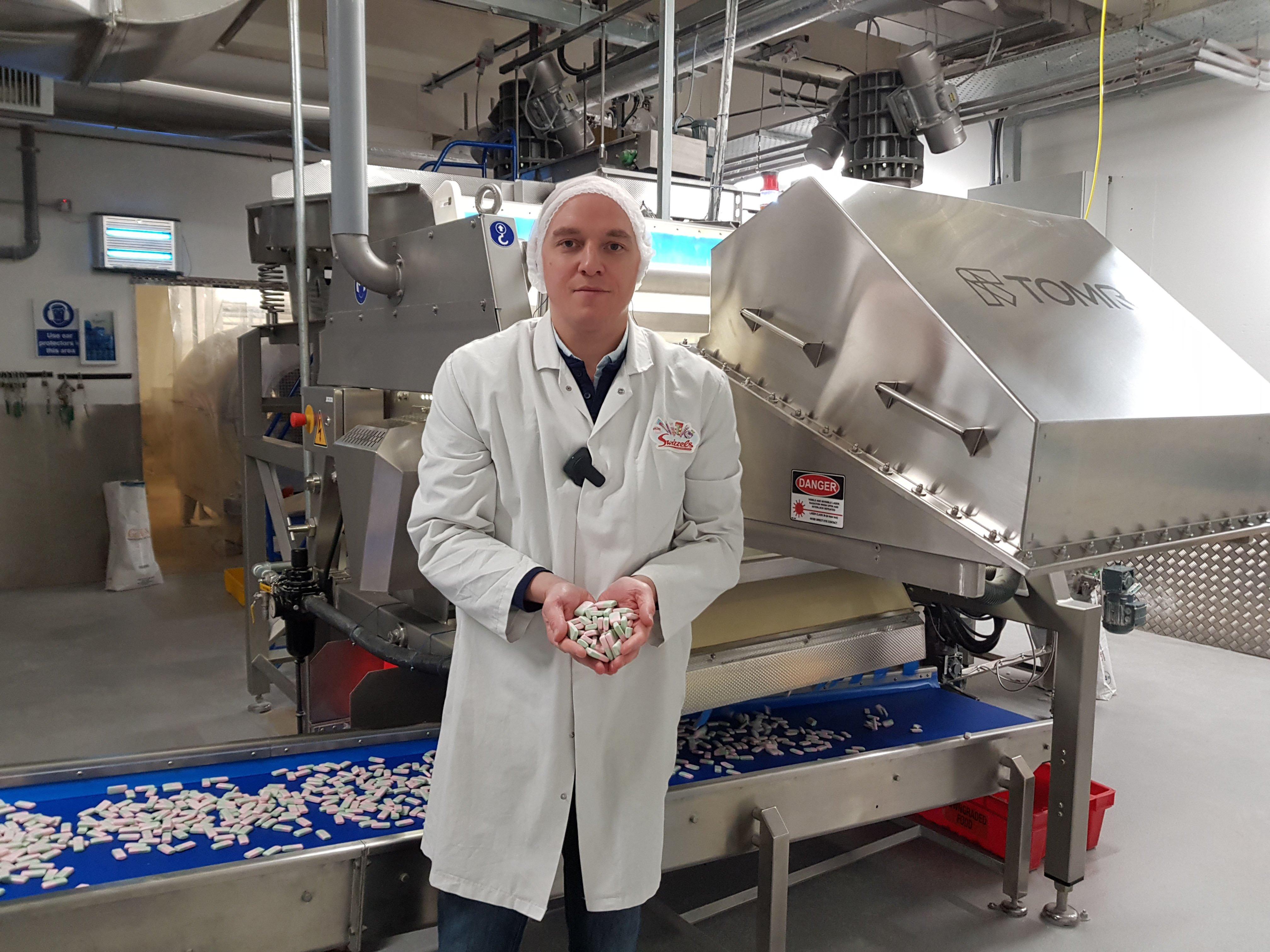 Matt Whatcott, Business Unit Manager (Jellies) at Swizzels Matlow