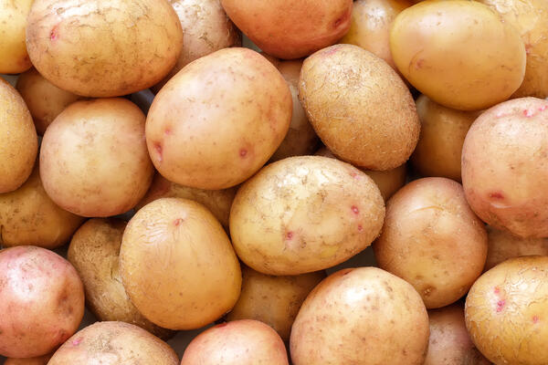 washed potatoes (5)