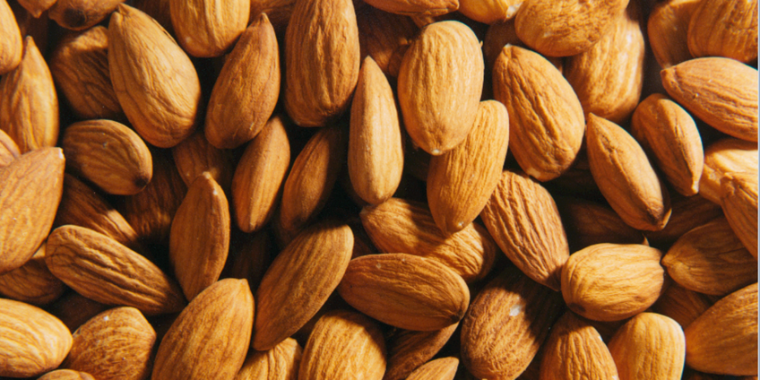 Healthy, Quality almonds